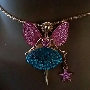 Angel Necklace.  BETSEY JOHNSON.